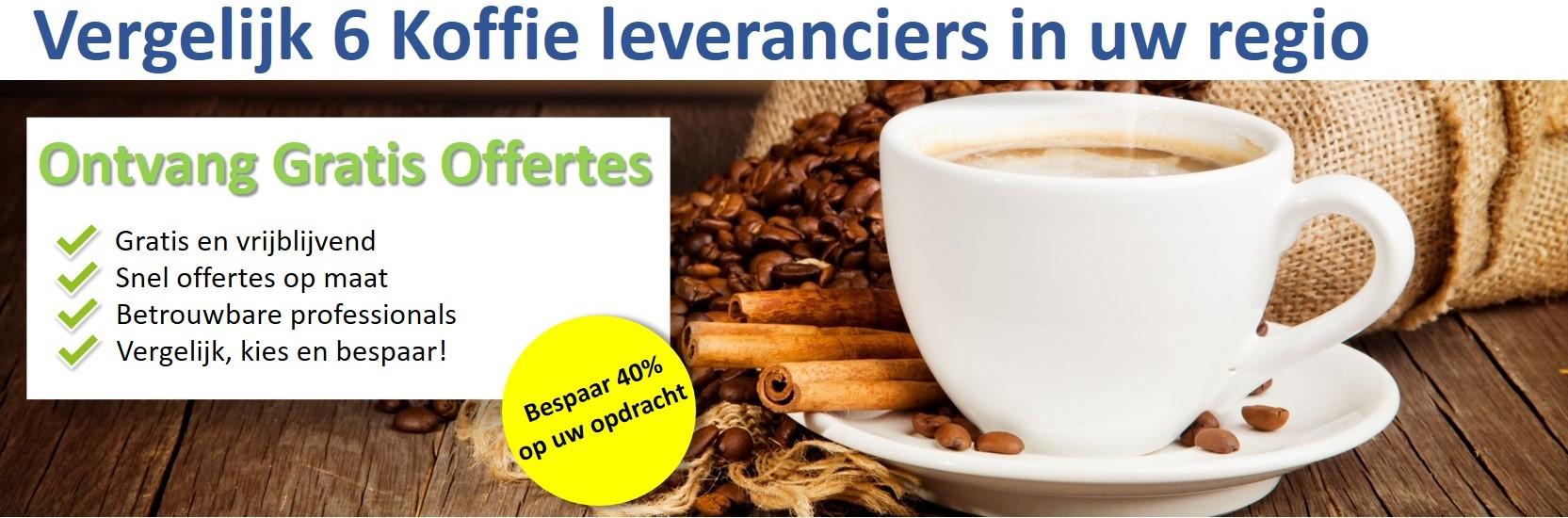 Koffie leveranciers banner