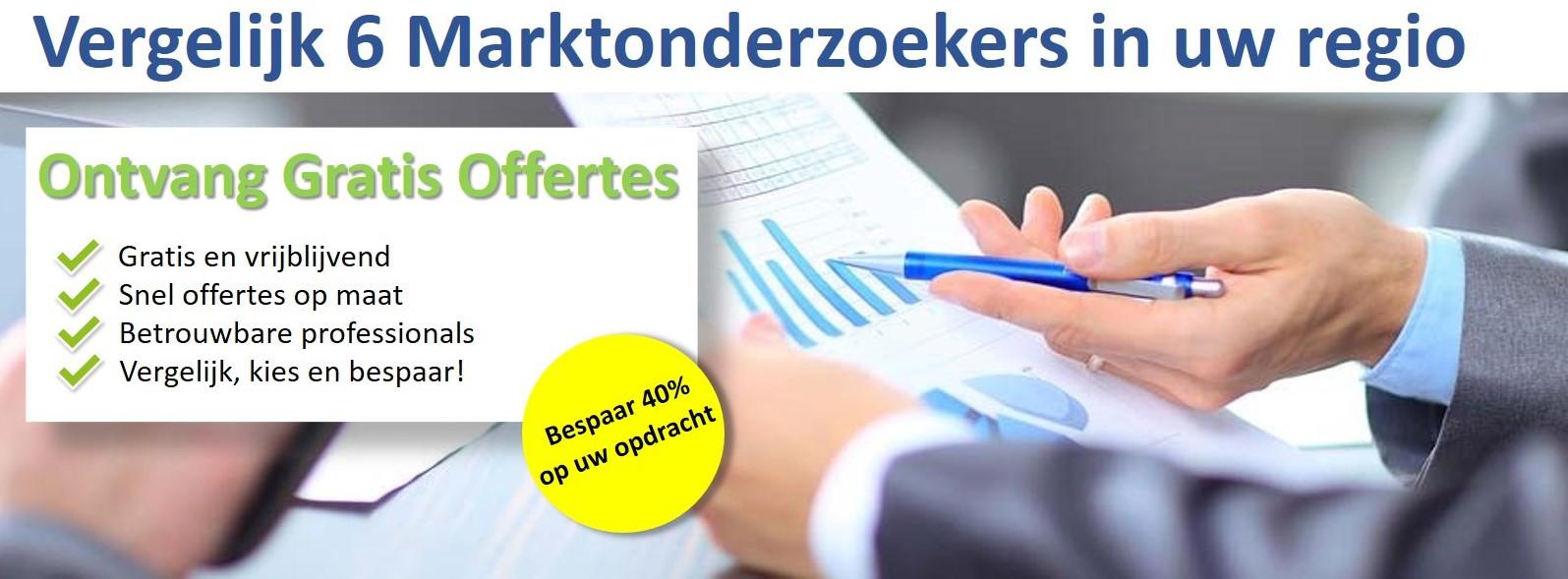 marktonderzoekers banner