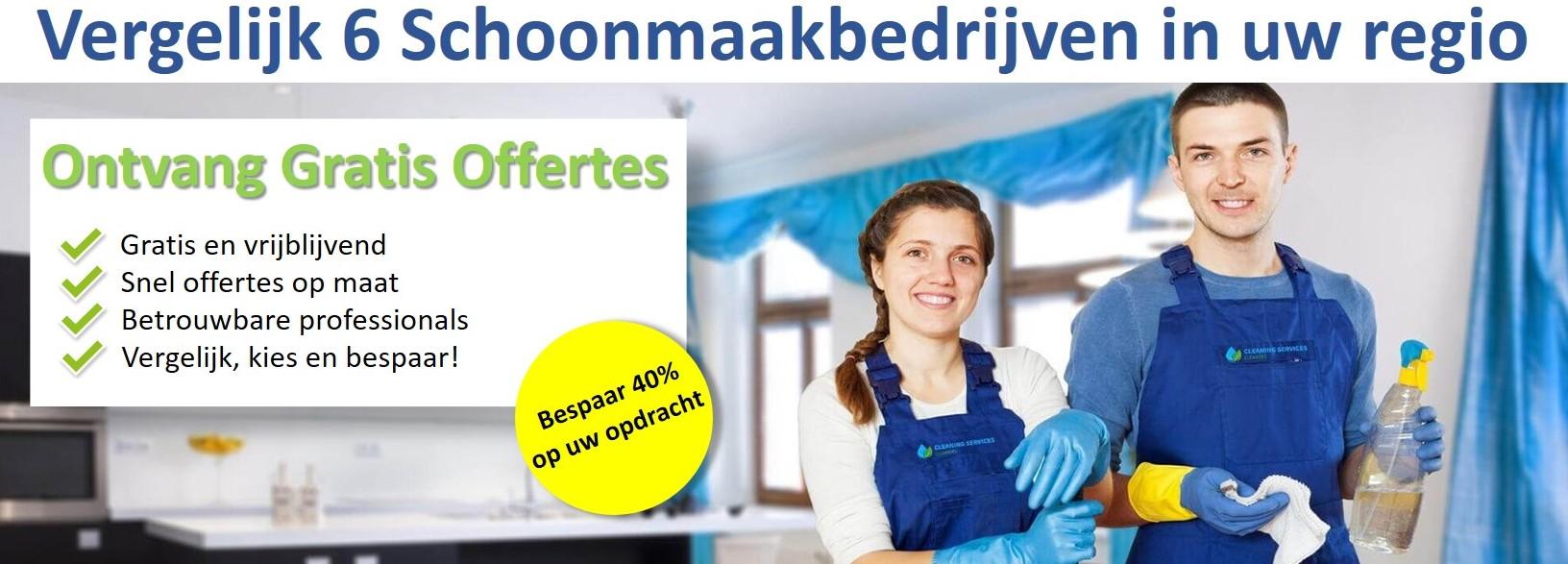 schoonmaakbedrijven banner